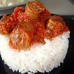 recette Merguez  Sauce Tomate Champignons