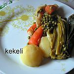 recette Mijoté aux légumes