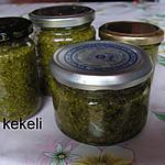recette Pesto d'ail des ours stérilisé.