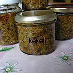 recette Pesto Rosso d'ail des ours (stérilisé)