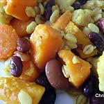 recette Ebly aux légumes et haricots rouges