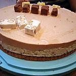 recette Entremet nougât snickers
