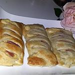 recette Friands au fromage et au jambon