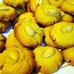 recette Sablés à la fleur d'oranger