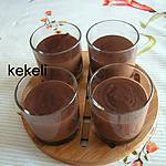 recette Crème au chocolat de Mlle May