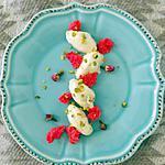 recette Kulfi et sponge cake à la rose