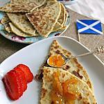 recette Tattie scones écossais à base de pommes de terre (vegan, sans lactose)