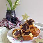 recette Mini cakes surprises vanille et cacao Piment d'Espelette (sans gluten, sans lactose, vegan)