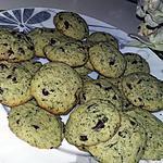 recette Cookies menthe chocolat