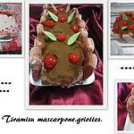 recette Tiramisu mascarpone & griottes.
