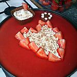 recette Entremet fraise chocolat