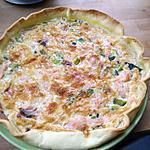 recette Quiche saumon fumé poireaux