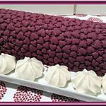 recette Glace au Cassis et chocolat blanc