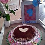 recette Gâteau coeur pour la fête de ma maman