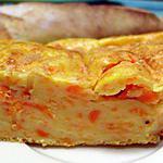 recette Gâteau éponge salé aux carottes