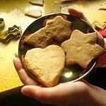 recette Petits sablés faciles à la cacahuète