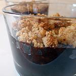 recette Crumble au chocolat & noisette