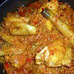 recette Poulet au riz caraibe