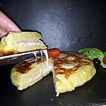 recette Tortilla de patata à l'italienne (farcis au jambon-fromage)
