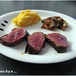 recette Magret de canard au miel et balsamique