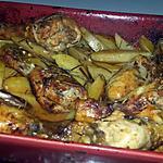 recette Pilons de poulet et ses pommes de terre rôtis au romarin