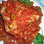 recette Steak de thon à la marseillaise