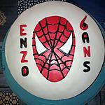 recette Gâteau d'anniversaire spiderman fraise vanille
