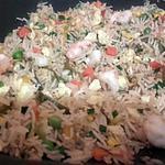 recette Riz frit au fruits de mer
