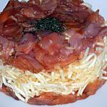 recette Tartare de céleri au saumon
