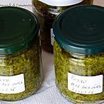 recette Sauce pesto ail des ours