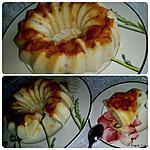 recette Gâteau de semoule aux pommes et raisins secs