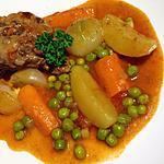 recette Navarin d'agneau aux légumes printaniers