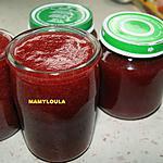 recette Sirop de fraises express