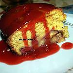 recette Gâteau aux fraises et sucre candy