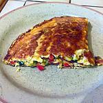 recette Omelette aux trois légumes