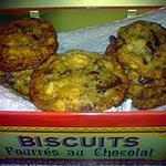recette Cookies aux pépites de chocolat et noix de macadamia : recette 100% AMERICAN