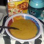 recette Soupe a la floraline,  carotte et courgette