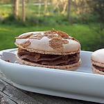 recette Macarons chocolat gianduja