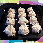 recette Boulettes de surimi au chavroux (apéro chic)