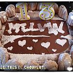 recette Charlotte aux chocolat (pour les 13 ans de mon fils Melvin)