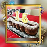 recette Cake chocolat/ricotta (pour les 15 ans de mon fils Anthony)