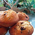 recette Muffins Choco Poire