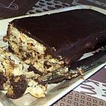 recette Gâteau au chocolat noir et au petits beurre