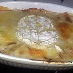recette Gratin de pomme de terre au camembert