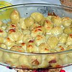 recette Gnocchis de pommes de terre