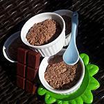 recette Mini ramequins de floraline au chocolat