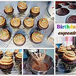 recette Birthday's Cupcakes