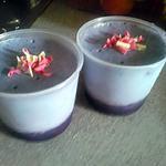 recette verrine de mascarpone au myrtille