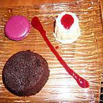 recette Moelleux au chocolat coeur fruits rouges