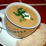 recette Soupe aux maïs